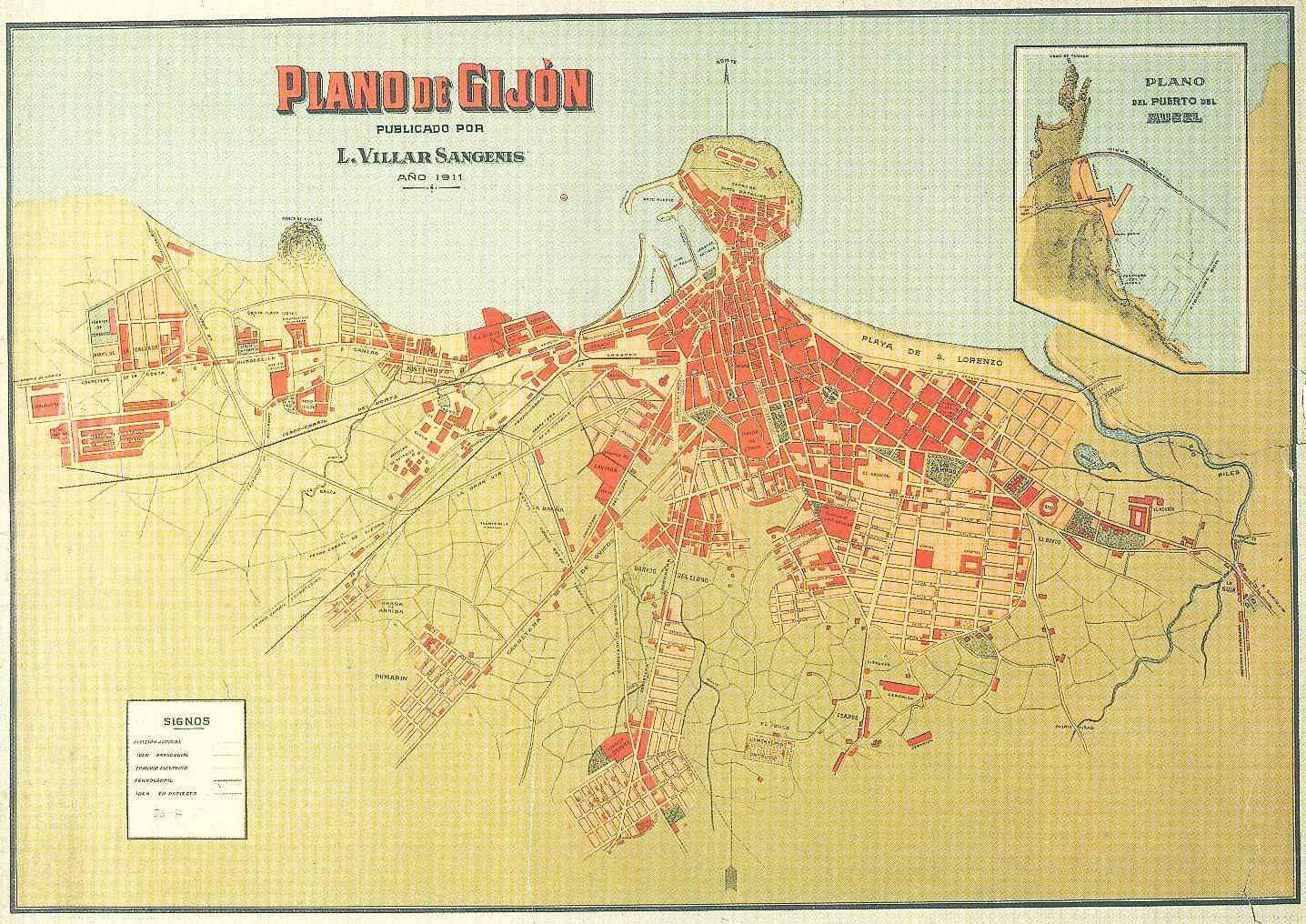 Mapa Carril Bici Gijon.Web Oficial De Gijon